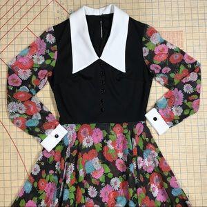 Gorgeous Vintage 70's Long Dress
